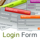 Clean & Simple Login Form - GraphicRiver Item for Sale