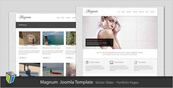 Magnum - Business and Portfolio Joomla Template