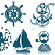 Compass and Sailing ships iconset - GraphicRiver Item for Sale