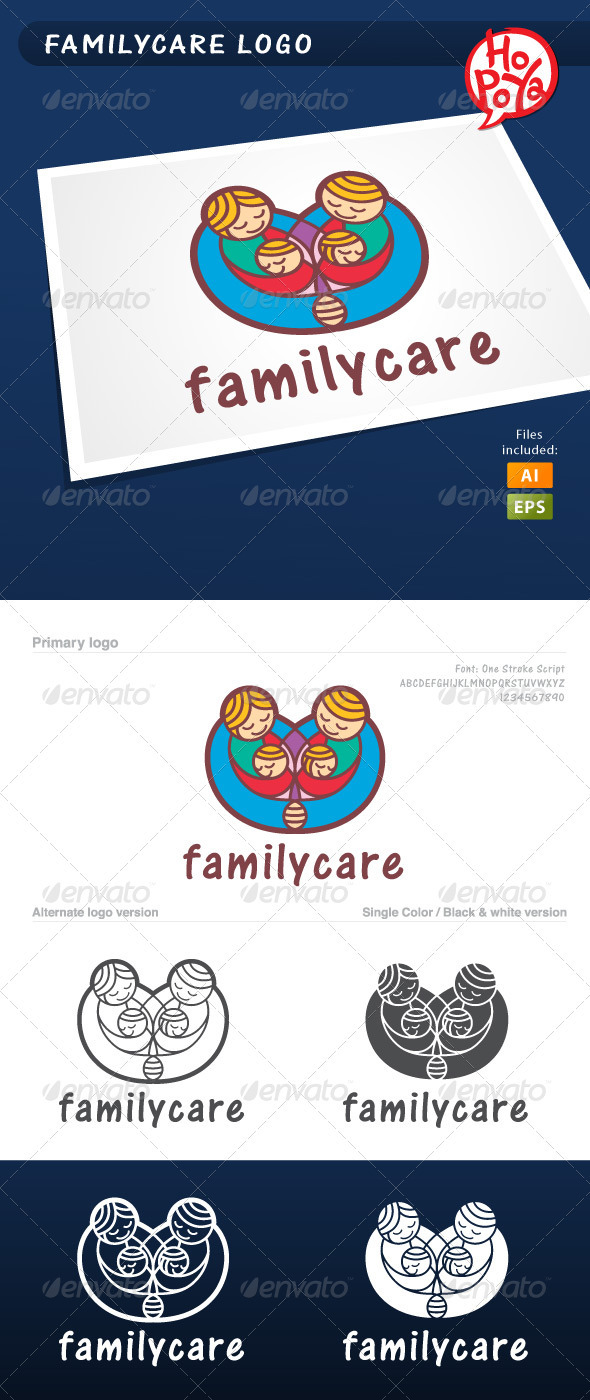 Familycare Logo - Humans Logo Templates