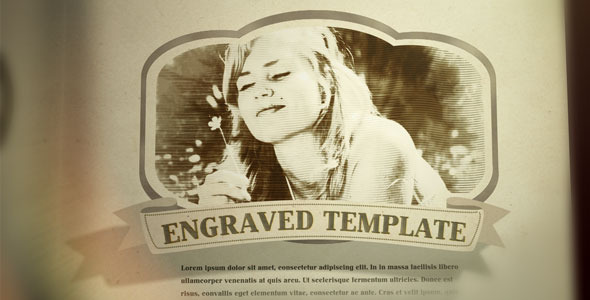 After Effects Project - VideoHive Engraved Vintage Book 2091988