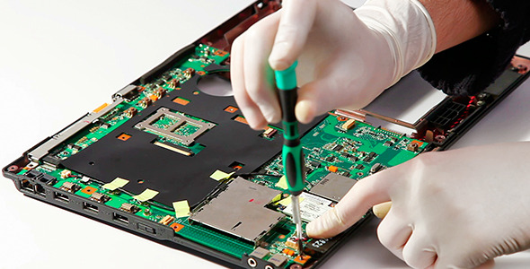 VideoHive Notebook Motherboard Mounting 2092449