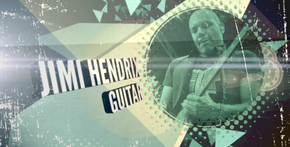 After Effects Project - VideoHive Meet the band 238623