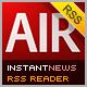 InstantNews Wordpress & RSS Desktop Reader - ActiveDen Item for Sale