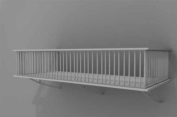 3DOcean High Poly Balcony 79576