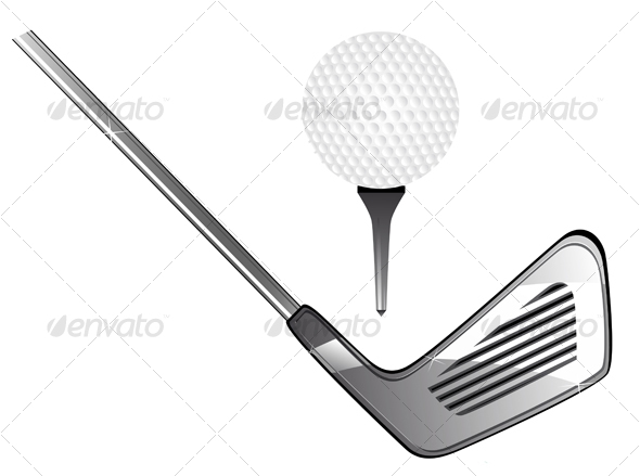 GraphicRiver Golf equipment 79592