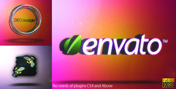 After Effects Project - VideoHive Glitchy Transforming Logo 2103363