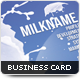 Milk Business Card - GraphicRiver Item for Sale