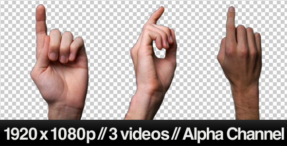 [VideoHive 239504] Touch Screen Finger Gesture Double Click | Stock Footage