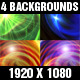 Four Space Backgrounds - VideoHive Item for Sale
