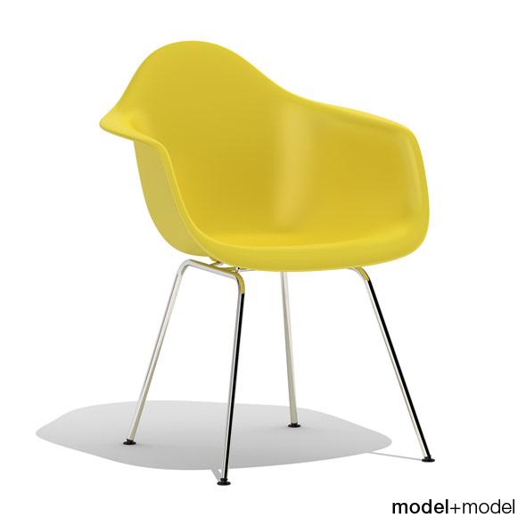 3DOcean Eames Plastic Armchair DAX 239737