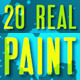 20 Real Paint Splatter - VideoHive Item for Sale