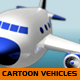 Cartoon Vehicles - 3DOcean Item for Sale