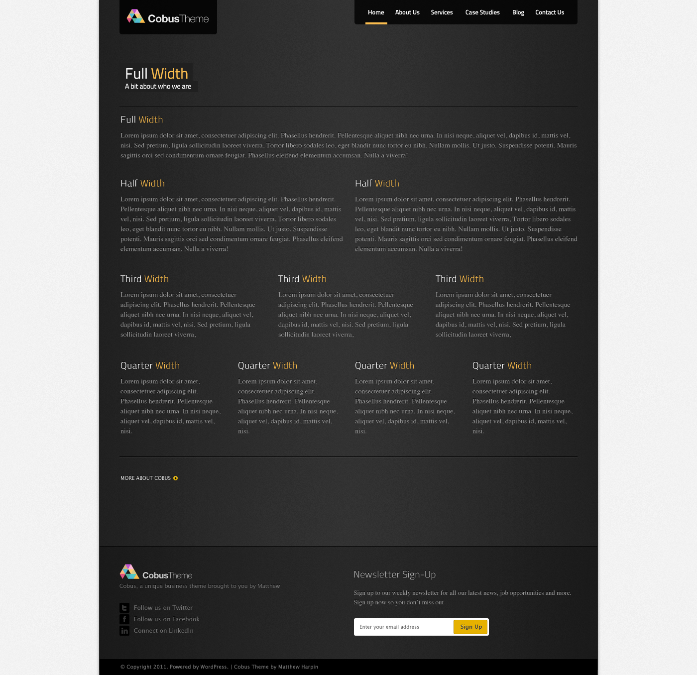 Cobus - Modern Business Template