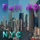 NYC Skyline Pack from New Jersey Side Full HD - VideoHive Item for Sale