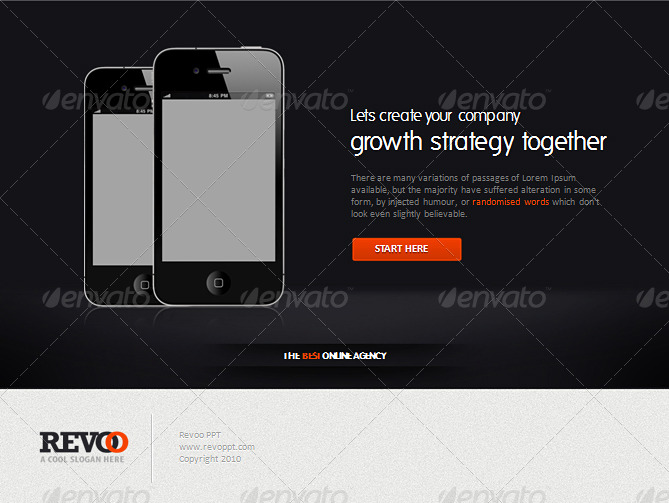 Revoo Website & Apps PowerPoint Presentation Templates