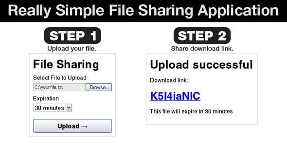 CodeCanyon Really Simple File Sharing Web Application 51228