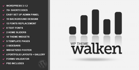 ThemeForest Walken Wordpress Premium Theme 236646