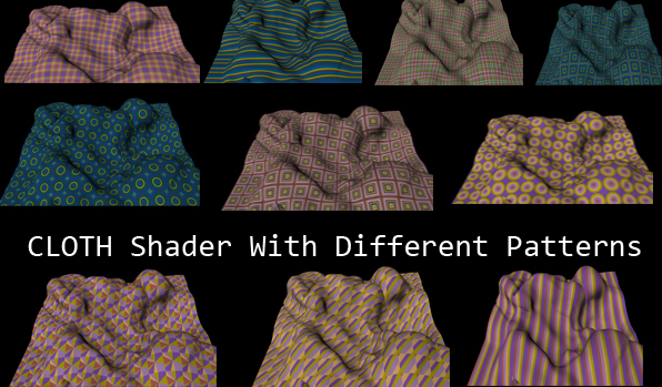 3DOcean Cloth Shader With 10 Different Patterns 240601