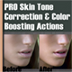 Skin Color Correction & Enhacement Actions #1 - GraphicRiver Item for Sale