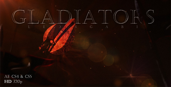 After Effects Project - VideoHive Gladiators 2080955