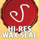 Hi-Res Wax Seal - GraphicRiver Item for Sale