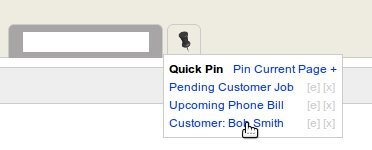 UCM Plugin: Quick Pin/Bookmark