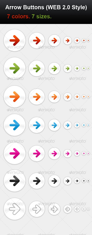 GraphicRiver Arrow Buttons 80316