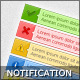 Ok, Error, Warning, Info &amp;amp; Tip Notification Boxes - GraphicRiver Item for Sale