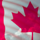 Canada flag seamless loop with clouds - VideoHive Item for Sale