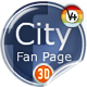 City  FaceBook Fan Page XML Driven - ActiveDen Item for Sale