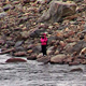 Fishermen Fishing In Mountain River - VideoHive Item for Sale