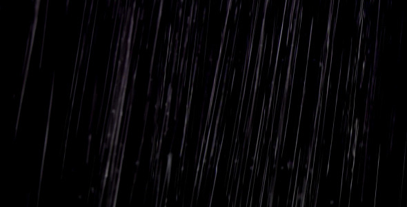 VideoHive Rain On Black II 2129395