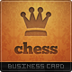 Chess Master Business Card - GraphicRiver Item for Sale