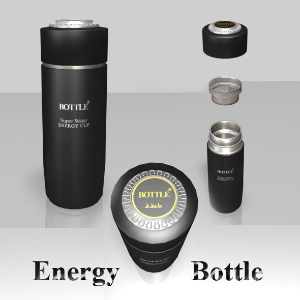 3DOcean Energy Bottle 80212