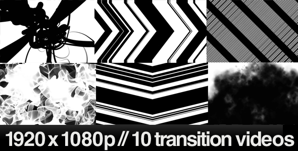 [VideoHive 241568] 10 HD Transitions Bundle B | Motion Graphics