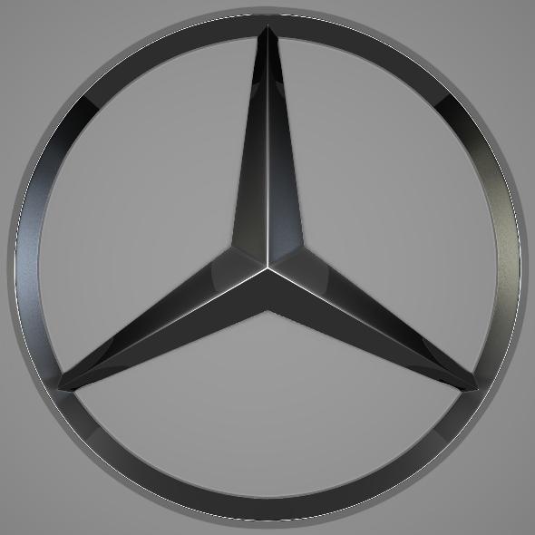 3DOcean Mercedes Logo 242324