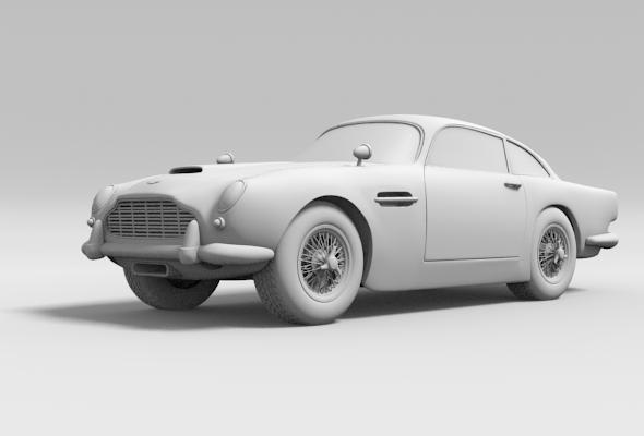 3DOcean Aston Martin DB5 242507