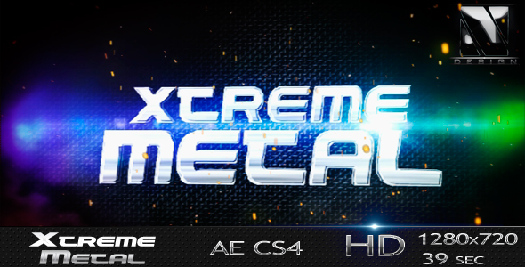 After Effects Project - VideoHive Xtreme Metal 238125