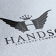 Handso Logo - GraphicRiver Item for Sale