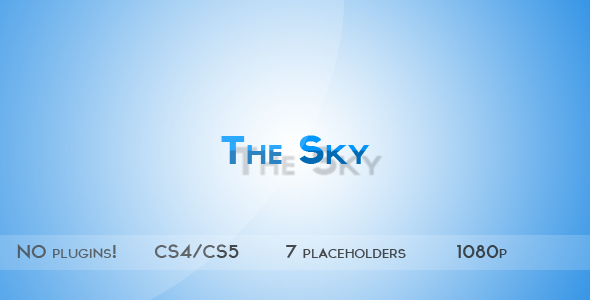 After Effects Project - VideoHive The Sky 242607
