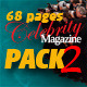 68 Pages Celebrity Magazine Pack 2 - GraphicRiver Item for Sale
