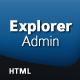 Explorer Admin - ThemeForest Item for Sale