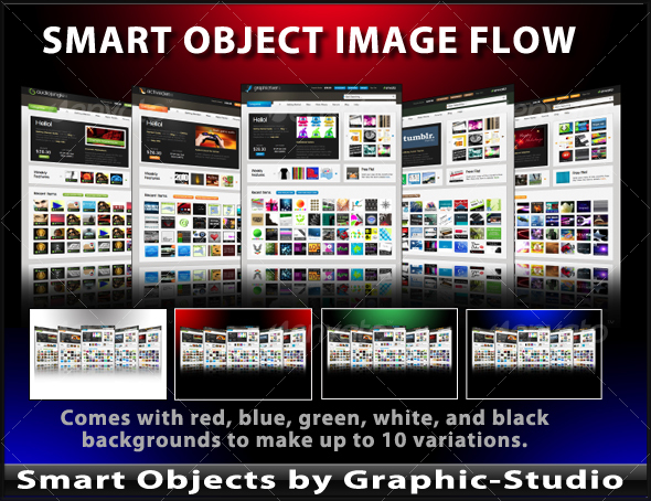GraphicRiver Smart Object Image Flow Template 80341