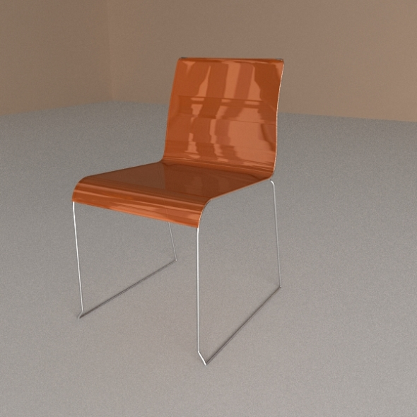 3DOcean Calligaris Chair Irony 243810