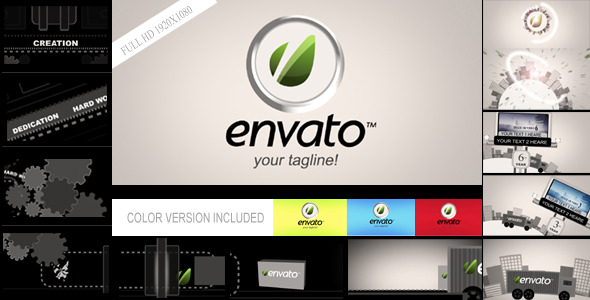 VideoHive The Journey of Creative Factory 2080631