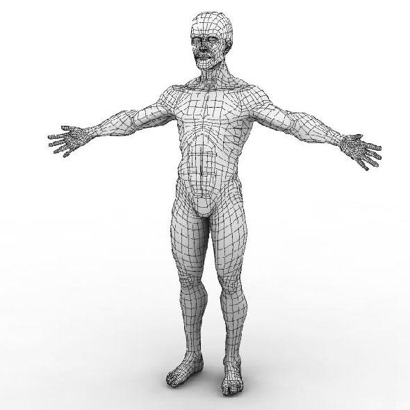3DOcean Man 244136