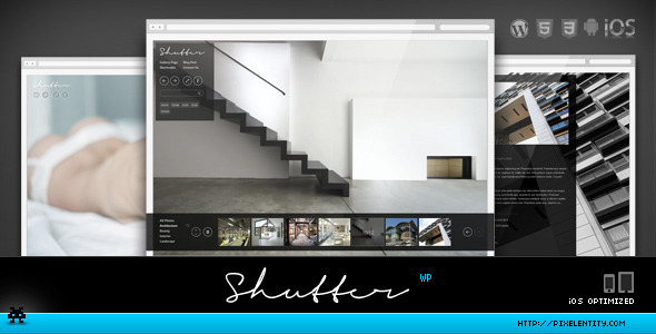 Shutter - Elegant Photography WordPress Theme - Photography Creative