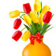 Spring Flowers in a Vase - GraphicRiver Item for Sale