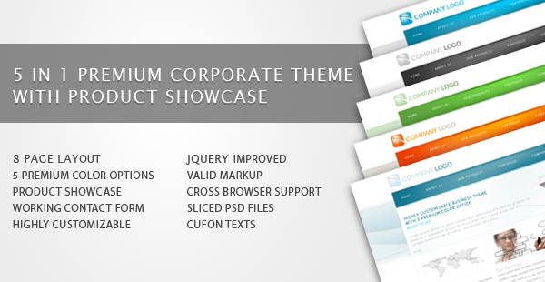 RT-Theme 6 / Bussiness Theme with Product Showcase